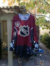 VTG 2002 NHL ALL STAR GAME WORLD CCM JERSEY MEN'S XXL RARE NOS ROENICK LEMIEUX