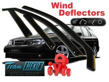 SAAB 9-5 4d / 5d 1998-2010 Saloon/ Estat  wind deflector 4 pcs  (28107) HEKO