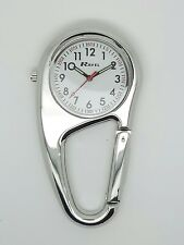 Nurse paramedic chef hiker fob clip on watch by Ravel  R1105.01