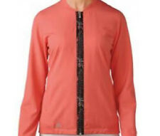 Adidas Women Climacool Bomber Jacket (S) Sun Coral AE4138