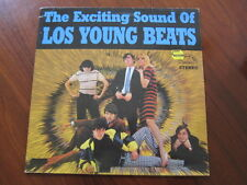 LOS YOUNG BEATS Exciting Sound lp 1960s Colombian garage reissue