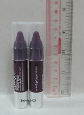 Clinique Chubby Stick Moisturizing Lip colour Balm # 16 Voluptuous Violet x 2