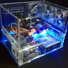 DIY Personalized Transparent Acrylic ATX Standard Computer Case US Seller New