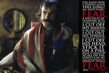 Gangs of New York Poster! Brand New ! Bill the Butcher Martin Scorsese Day-Lewis