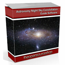 Professional Astronomy Night Sky & Constellation Software CD - Learn About Stars