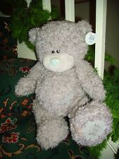 Lovely Huge Jointed Me to You Bear Ear Tag Poseable RARE Silver Me 2 You on foot