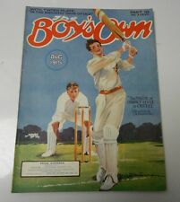 1915 BOY'S OWN UK Magazine AUG w/ JOUSTING Poster CRICKET Cover VG+