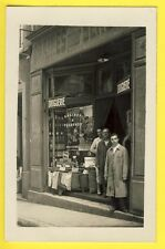 cpa France CARTE PHOTO Commerce Magasin Trade Shop DROGUERIE Graines et Végétaux