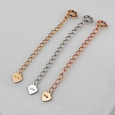 Pure Solid 18K Yellow Gold Extend Chain / Best Fashion Extend Chain 0.3g/30mm