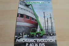 127593) Merlo Panoramic Evolution P 40.16 EVS Prospekt 02/1999