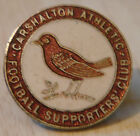 CARSHALTON ATHLETIC Vintage SUPPORTERS CLUB Badge Maker H.W MILLER 26mm x 26mm