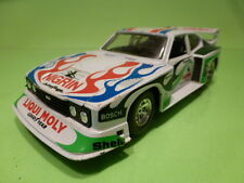 BBURAGO 0181 FORD CAPRI TURBO - RALLY NIGRIN ZAKSPEED  - WHITE 1:24 - GOOD
