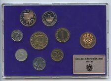 GN305 - Österreich Kursmünzsatz 1987 Proof Original KMS Coin Mint Set Set