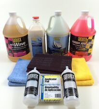 Boat Detailing Pro Pack - Ardex Best Boat Wax-Compound-Pre Wash-Wash and Wax