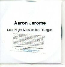 (289J) Aaron Jerome, Late Night Mission - DJ CD