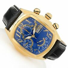 New Mens Invicta 18919 Dragon Lupah Swiss Made Automatic SW500 Chronograph Watch