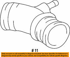 TOYOTA OEM 99-02 4Runner 3.4L-V6 Air Intake-Air Hose 1788262020