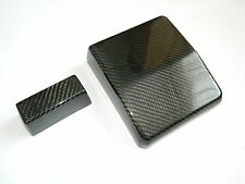 Mitsubishi Lancer EVO X 10 Evolution Carbon Sicherungs Abdeckungen Fuse Cover