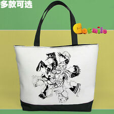 JoJo's Bizarre Adventure JoJo Canvas Handbag Bag School Shopping + Gift Sa
