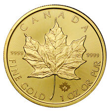 2017 Canada $50 1 Oz Gold Maple Leaf *PRESALE* SKU44197