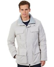Nautica Men's Solid Parka Jacket, Sand Drift, Size L.