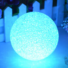Color Changing Night Light Lamp 7Colors Magic Xmas Party Gift LED Crystal Ball