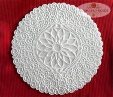 Handmade Silicone Mold /Cake Decoration Mould/doily mold 10