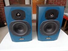 Pair Tannoy Studio Monitor Reveal Blue Speakers