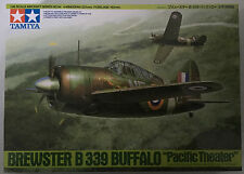 "Tamiya 61094 1/48 Scale Brewster B-339 Buffalo ""Pacific Theater"" Model Kit NIB"