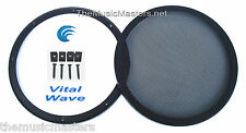 "1X 10"" inch Sub Woofer ""Clipless"" Fine Mesh GRILL Speaker Protective Cover VWLTW"