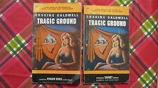 "Two 1948 Penguin paperback books.  ""Tragic Ground"" by Erskine Caldwell."