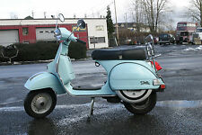 2007 Genuine Stella 150cc 2-Stroke Scooter in Light Blue
