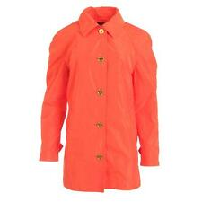 Lauren Ralph Lauren 5150 Womens Orange Linded Basic Coat Outerwear L BHFO