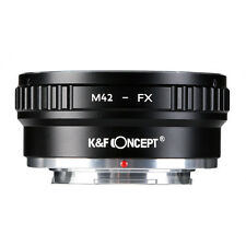 K&F CONCEPT M42-FX Ⅱ Copper Adapter Ring for M42 Mount Lenses to Fujifilm Camera