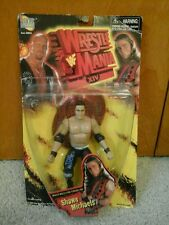 WWE WWF FIGURE ERROR MISTAKE 1998 WRESTLEMANIA XIV SHAWN MICHAELS BOX THE ROCK!!