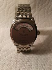 Stauer automatic jump hour styled watch
