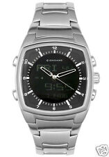 Giordano Black Dial Stainless Steel Analog-Digital Multi-Function Watch 1246-11