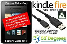 USB Factory Cable Kindle Fire Unbrick - CHEAPEST TO EUROPE SAME DAY SHIPPING