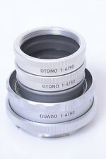 LEICA MACRO 2x OTQNO EXTENSION RING & OUAGO FOCUSING MOUNT 90MM ELMAR LENS HEAD