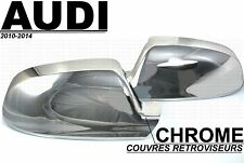 AUDI 2009-2014 A3 S3 A4 B8 A5 S5 8T ENJOLIVEURS CHROME CACHE COQUE RETROVISEURS