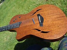 Taylor T5 Classic 6 String Acoustic Electric Lefty Left Handed Diamond Inlays