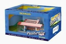 BACHMANN PLASTICVILLE HO SCALE BUILT/UP PLATFORM STATION & FREIGHT STATION