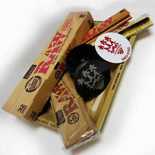 RAW Mini Rolling Tray Survivors Gift Set with Cypher Grinder by SMO-KING
