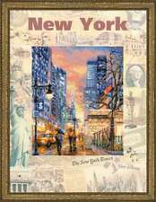 "Counted Cross Stitch Kit RIOLIS - ""Cities of the World. New York"""