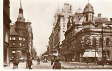 Oxford Street Manchester Palace Theatre  RP pc  used 1929
