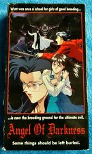 ANGEL OF DARKNESS VHS Tape Mature Anime 1994 Soft Cel Pictures English Subtitles
