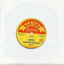 JOHN LEE HOOKER  DIMPLES  / BOOM BOOM / SHE'S MINE  UK OUTTASIGHT/R&B  MOD/R&B