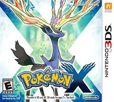 Nintendo 3DS Pokemon X Game Cartridge No Case