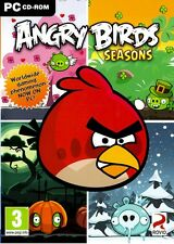 ANGRY BIRDS SEASONS (PC GAME) DVD XP/VISTA/7/8**NEW/SEALED**