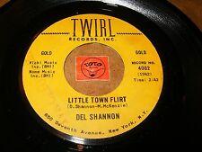 DEL SHANNON - LITTLE TOWN FLIRT - HATS OFF TO LARRY  / LISTEN - TEEN POPCORN